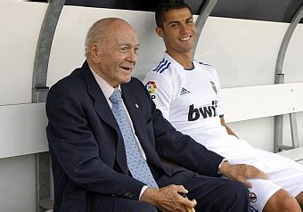 "di stéfano: ""i back the campaign to keep cristiano at real"