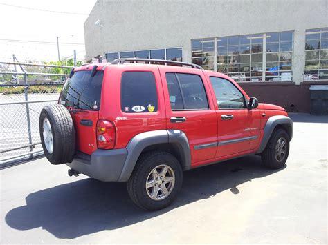 crashed jeep liberty used salvage parts 2002 jeep liberty sport 4x4 3 7l v6 4