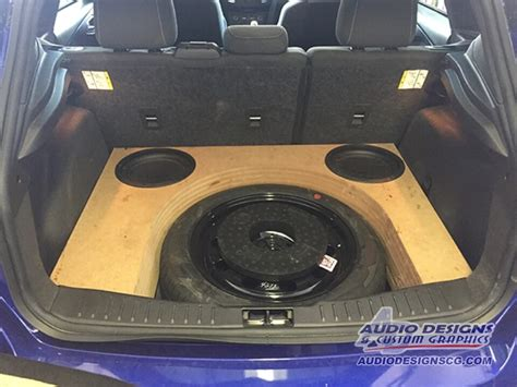 Substage200 Stealth Subwoofer Designed To Hide Your by Stealth Ford Focus Subwoofer Enclosure