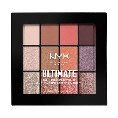 Nyx Make Up Palette Eye Shadow Lipstick Blush On Foundation Palet ultimate multi finish shadow palette nyx professional makeup
