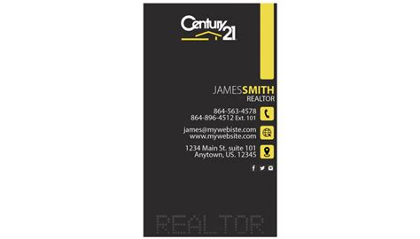 Century 21 Gift Card Value - century 21 business cards century 21 business card template