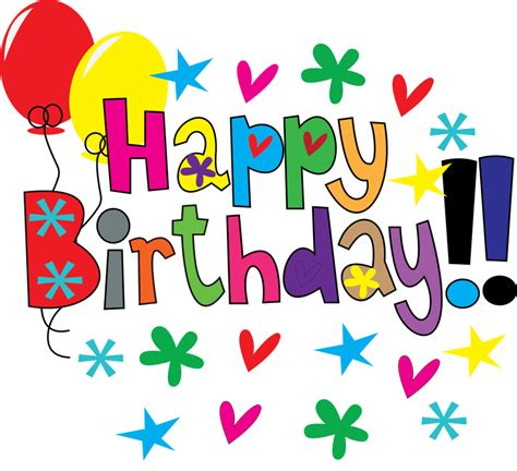 happy birthday clipart happy birthday clipart png clipartsgram
