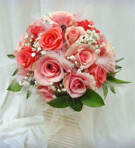 Bouquet Of Wedding Flowers by Wedding Flowers In Santorini In Ios Greece