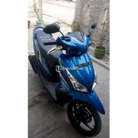 Handle Rem Spacyspacy Fi Asli Ahm honda vario fi tahun 2014 warna biru surat komplit