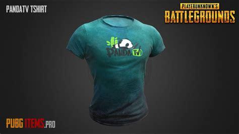 Tshirt Item pandatv t shirt pubg item showcase