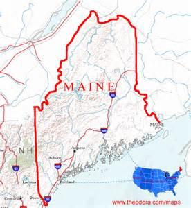 map us maine maine maps