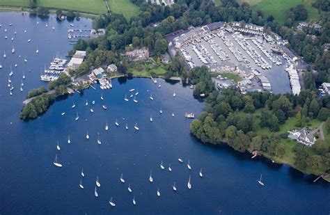 boat marina windermere visitor mooring in windermere lake district holiday moorings