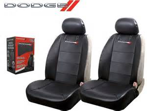 Seat Covers For Dodge Charger Dodge Elite Seat Covers Black Synthetic Leather Side Air