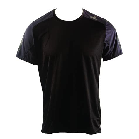 Adidas T Shirt Tshirt Black running t shirt s adidas response black buy now