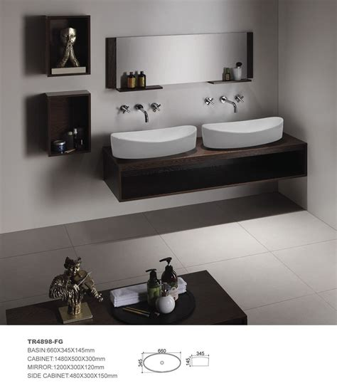 Hotel Bathroom Furniture Mdf Bathroom Cabinet Bathroom Vanity Bathroom Furniture Hotel Bathroom Vanity Ceramic Sink In