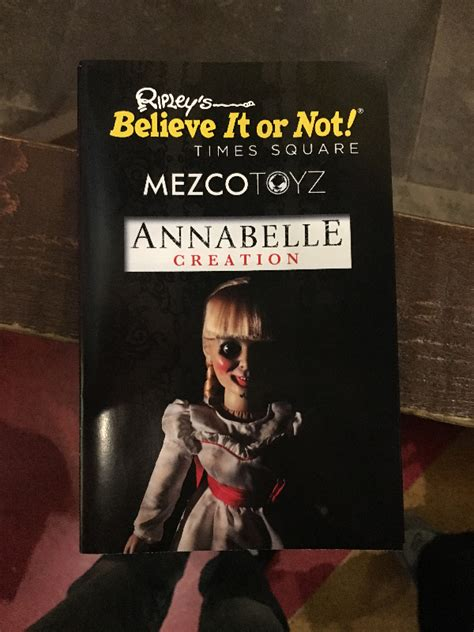 annabelle doll exhibit annabelle invades ripley s believe it or not times square