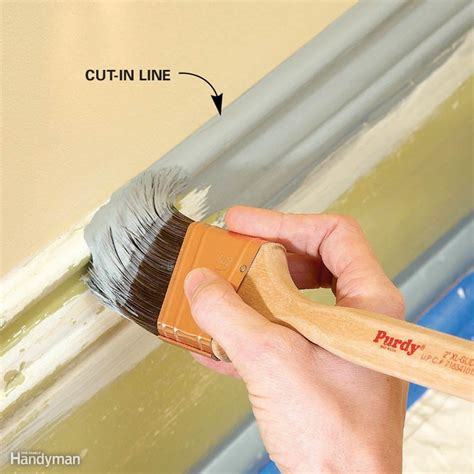 trim painting tips for smooth and results the family handyman