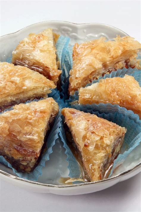 simple baklava recipe dishmaps