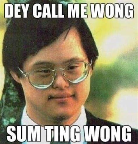 Sum Ting Wong Meme - the 25 best ideas about down syndrome memes on pinterest