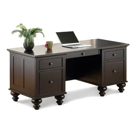 Solid Wood Office Desk Georgetown Executive Desk Solid Wood Office Furniture