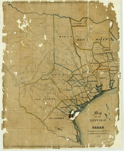 republic of texas map 1837 republic of texas texas tejano chioning tejano heritage and legacy