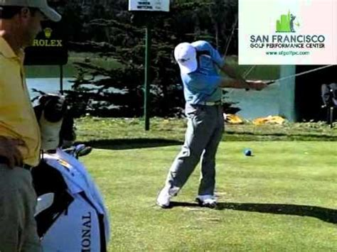 tim clark golf swing tim clark golf swing video 300 fps presidents cup youtube