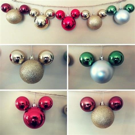 mickey mouse inspired ornaments holiday time