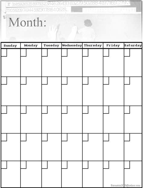 Blank Calendar Print Out Best Photos Of Blank Calendar Print Outs 2015 Blank