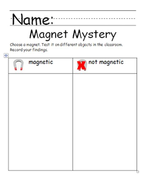 kindergarten activities magnets chalk talk a kindergarten blog a magnetic attraction