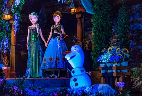 magic show boat ride nyc frozen ever after at epcot elsa anna meet and greet