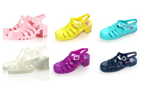 Sandal Wanita Wedges Jelly Shoes jelly shoes flawless fabulous makeup