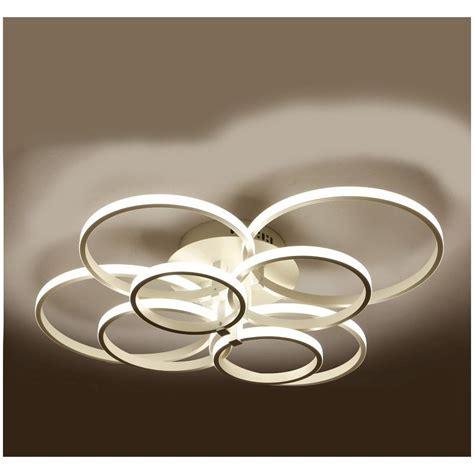 Ordinaire Eclairage Led Interieur Plafond #3: lustre-led-de-salon-moderne-luminaire-d-interieur-eclairage-pour-plafond-8-modules.jpg