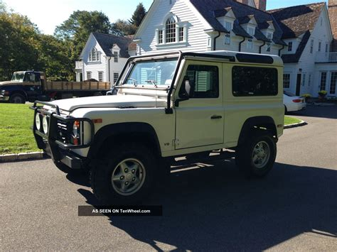 1997 land rover defender 90 base sport utility 2 door 4 0l