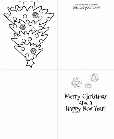 printable christmas cards foldable 7 best images of printable foldable coloring christmas