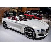 Bentley Challenges Tesla's Idea Of Electric Luxury With A