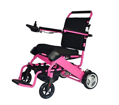 motorized wheel chair motorized electric wheelchair pink intellichair