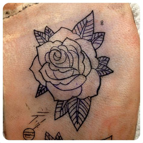 rose old school tattoo school tattoos design idea for and