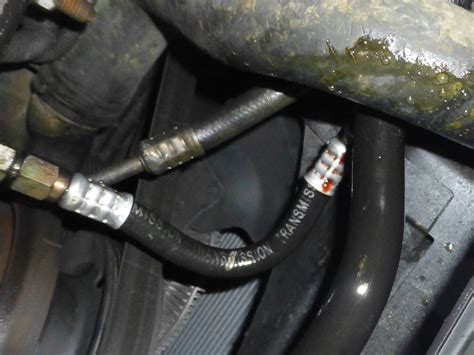98 Jeep Transmission Fluid 97 Zj Transmission Coolant Line Leak Where Can I Find