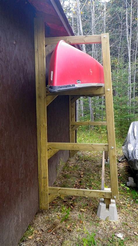 Kayak Storage Racks For Garage by 25 Unique Canoe Storage Ideas On Kayak Store