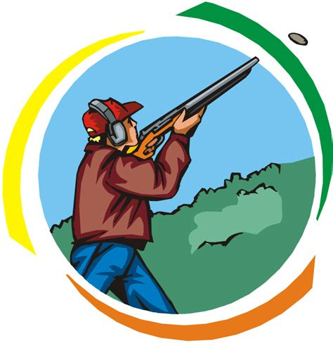 shooting clipart skeet shooting clipart