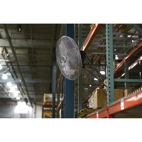 strongway oscillating wall mounted fan strongway oscillating wall mounted fan 20in 4600 cfm