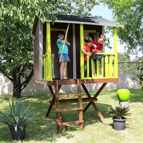 Cabane Arbre Enfant by Maisonnette Enfant Bois Cabane Dans Les Arbres Plantes