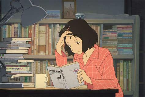 anime girl studying wallpaper youtube s most popular lofi hip hop livestream may