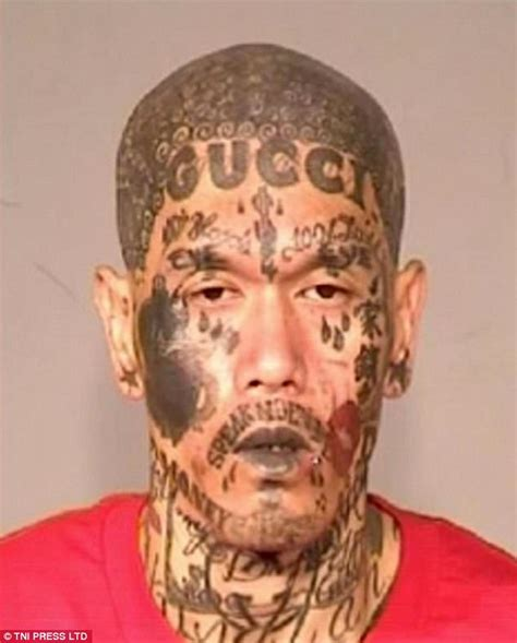 criminals with america s most shocking face tattoos