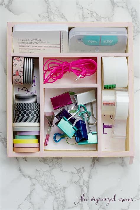 Blog The Organized Mama Diy Desk Drawer