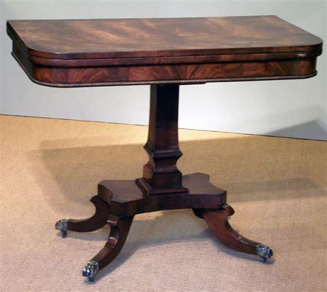 antique regency mahogany tea table antique card tables