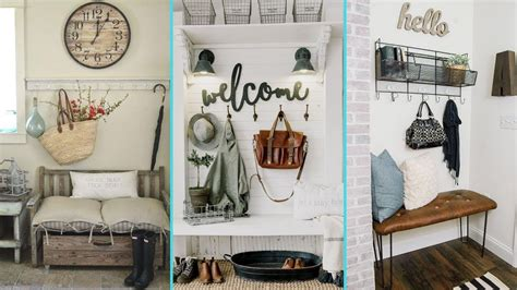 shabby home decor diy rustic shabby chic style mudroom decor ideas home
