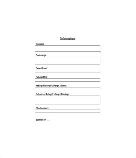 Trip Report Template Navy 25 Report Templates Free Word Pdf Documents