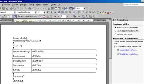 icd 10 code tabelle 220 bungen zur erstellung word serienbriefen mit gtds