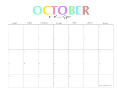 free printable planner october 2015 free printable calendar 2018 free printable calendar october