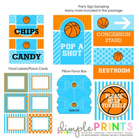 basketball pop up card template basketball printable package dimple prints shop