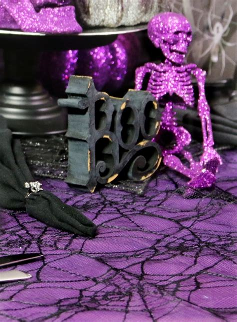 how to create a whimsical halloween table setting