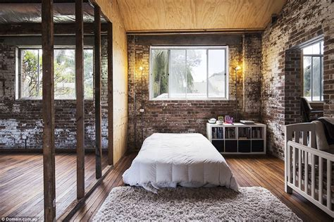 bedroom warehouse hipster warehouse conversion in sydney sells for 3