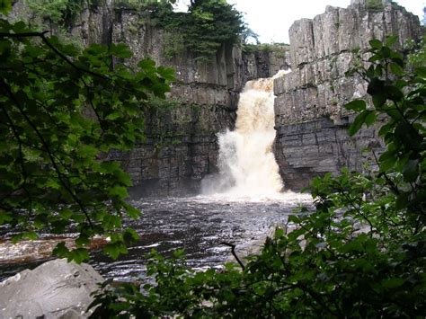 high force waterfall on the river tees photo walking britain quot high force englands highest waterfall on the river tees
