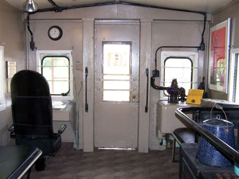 Ho Passenger Car Interiors Union Pacific Caboose 25275 Texas Transportation Museum